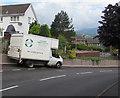 SO2613 : Homemakers Community Recycling vehicle, Derwen Deg, Govilon by Jaggery