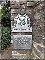 ST5678 : National Trust Sign 'Blaise Hamlet' by PAUL FARMER