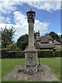 ST5578 : Village Pump, Blaise Hamlet by PAUL FARMER