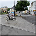 SS5532 : Barnstaple bicycle racks by Jaggery