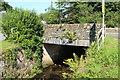 NX9759 : Bridge over the Kirkbean Burn by Billy McCrorie