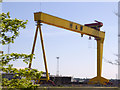 J3574 : Harland and Wolff Gantry Crane Goliath by David Dixon