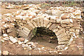 SK8329 : Croxton Kerrial 12thC Medieval Manor House: excavations (9) by Kate Jewell