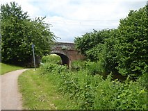 ST2625 : Bridge near Hyde Farm over Bridgwater and Taunton Canal by David Smith