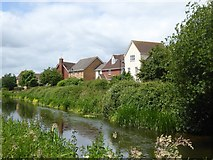 ST2426 : Housing estate at Maidenbrook by David Smith