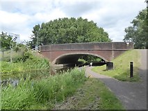ST2426 : Venture Way bridge over Bridgwater and Taunton Canal by David Smith