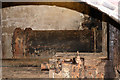 SJ4912 : Coleham Head Pumpings Station - condenser by Chris Allen