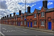 TL0450 : Almshouse on Dame Alice street by Philip Jeffrey