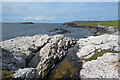 HU4488 : Rocky Coast, West Sandwick by Des Blenkinsopp