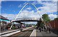 C9525 : Footbridge, Ballymoney by Rossographer