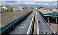 C8532 : Trains, Coleraine Railway Station by Rossographer