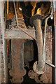 SJ4912 : Coleham Head pumping station - pumps by Chris Allen