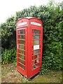 SP7301 : Red K6 Telephone Box at Sydenham, Oxon by David Hillas