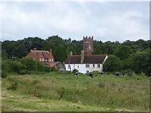 SX9792 : Sowton village by David Smith