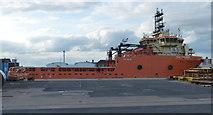TA0827 : Toisa Explorer at the Albert Dock by Mat Fascione