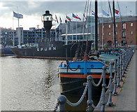 TA0928 : Spurn Lightship at Hull Marina by Mat Fascione