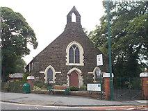 NZ5518 : Congregational Church - Jubilee Road by Betty Longbottom