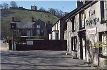 SK1482 : The George, Castleton by Philip Halling