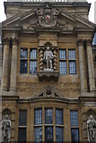 SP5106 : Statue of Cecil Rhodes, High Street frontage of Oriel College, Oxford by Christopher Hilton