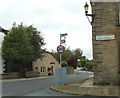 SD6067 : Signpost in the centre of Wray village by Stephen Craven