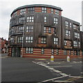 SO8555 : Harrington Court, Lowesmoor, Worcester by Jaggery