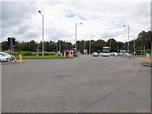 SJ8285 : Terminals 1 & 3 Roundabout by Gerald England