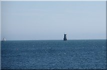 J6753 : The disused South Rock Light by Eric Jones