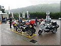 NN3230 : Motorbikes At Tyndrum by Hugh Venables