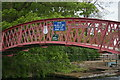 SP4907 : Thames towpath footbridge at Medley by Christopher Hilton