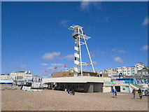 TQ3103 : Brighton Zip Wire by Paul Gillett