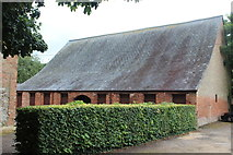 ST2885 : Barn in grounds of Tredegar House by M J Roscoe