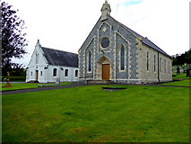 H6257 : Ballygawley Presbyterian Church and Hall by Kenneth  Allen