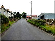 H6257 : Farm buildings along Whitebridge Road by Kenneth  Allen
