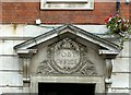 SK4641 : Main entrance, former Post Office, Ilkeston by Alan Murray-Rust