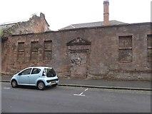 NS5666 : Former school entrance, Torness Street by David Smith