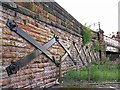 NY4055 : Iron bracing, Victoria Viaduct (2) by Rose and Trev Clough