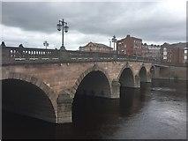 SO8454 : Worcester Bridge by Alan Hughes