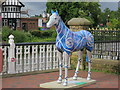 TQ5946 : Interstellar Steed, Herd of the Hospice by Oast House Archive