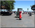 SS9746 : King George V pillarbox and BT phonebox, Minehead by Jaggery