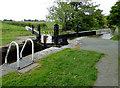 SJ6049 : Baddiley No 2 Lock near Wrenbury Heath, Cheshire by Roger  Kidd
