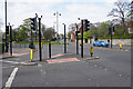 NZ3956 : A large road junction by Bill Boaden