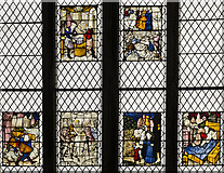 SX9292 : Lady chapel window, Exeter Cathedral by Julian P Guffogg