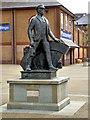 SU4519 : The Eastleigh Railwayman by David Dixon