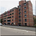 SO8554 : St Martin's Gate multistorey car park, Worcester by Jaggery