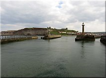 NZ8911 : The entrance to the Lower Harbour in Whitby by Steve Daniels