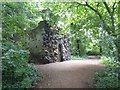 NT3272 : The Shell Grotto at Newhailes by David Smith