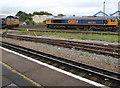 SU4519 : GBRf diesel locomotive 66735 in Eastleigh by Jaggery