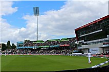 SJ8195 : The AO.com stand at Emirates Old Trafford by Richard Hoare