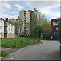 SP2878 : Flats in Tile Hill North, western Coventry by Robin Stott