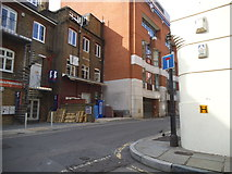 TQ3380 : Horselydown Lane at the junction of Gainsford Street by David Howard